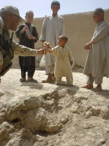 Afghan kids were targeted for kindness. Contrary to what some believe, passing out stuffed animals was routine, hurting kids was not.