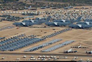 A huge field of discarded military equipment. This is what being a veteran after ETS feels like.