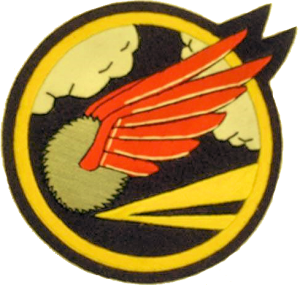 The 41st Fighter Squadron patch.