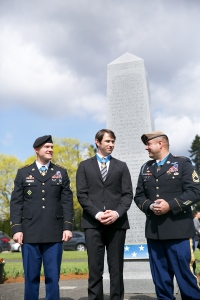 I guess we should take down the Medal of Honor memorial. We wouldn't want anyone to be bothered by this display of appreciation.