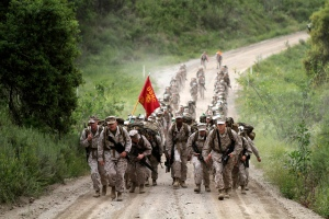 marine march