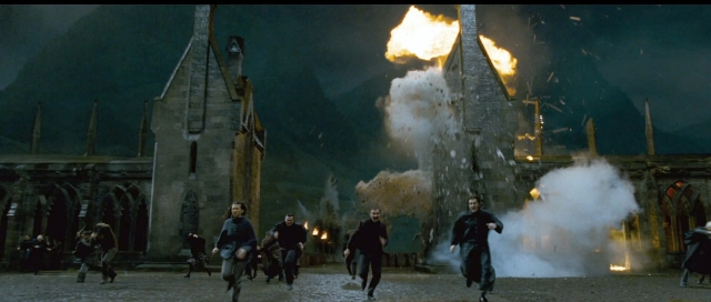 The Battle for Hogwarts is like having a fire base overrun. How do you explain the complexity of emotions to someone that can't relate?
