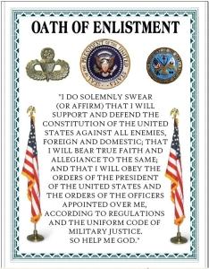 oath enlistment army