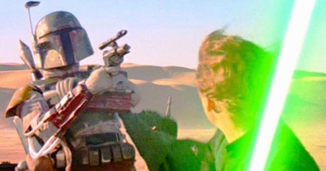 Boba Fett Luke duel